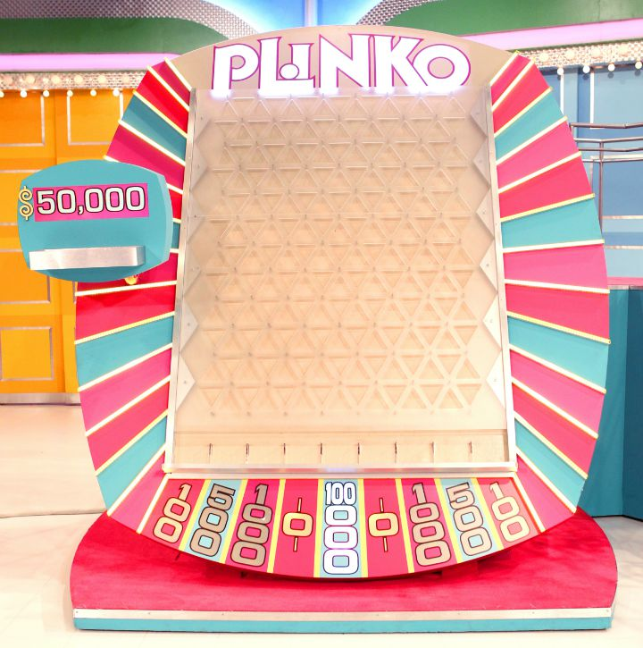 the game of Plinko